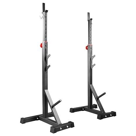 Soporte para pesas trainhard soporte par: Amazon.es: Deportes y ...