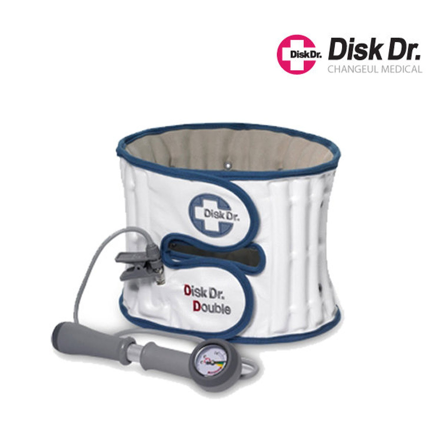 Disk Dr WG50 Double Waist Disc Support Belt (XL (84-91cm) or (34-36 inch))