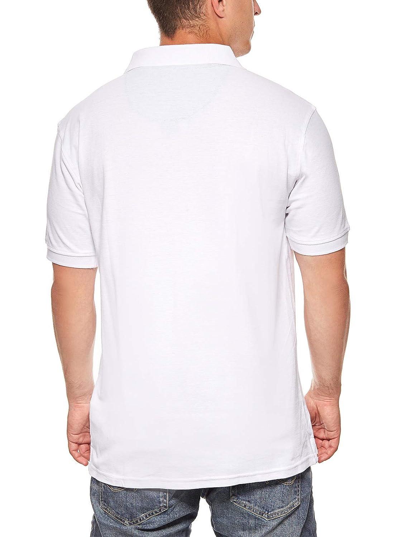 EE.UU. Polo ASSN. Polo clásico para Hombre Polo Camisa Blanca ...