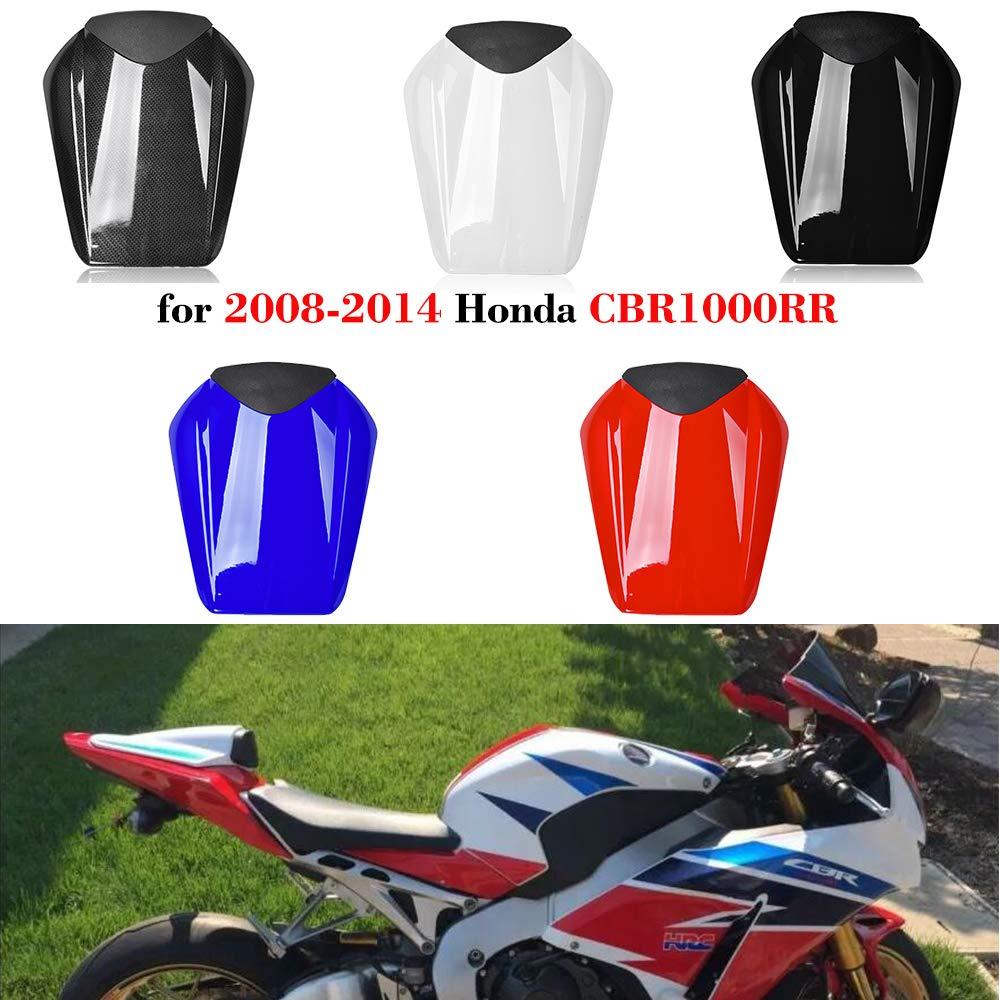 Motociclo CBR-1000-RR Passeggero posteriore Coprisedile Cappuccio for 2008-2014 Honda CBR1000RR CBR 1000RR 2009 2010 2011 2012 2013 Nero