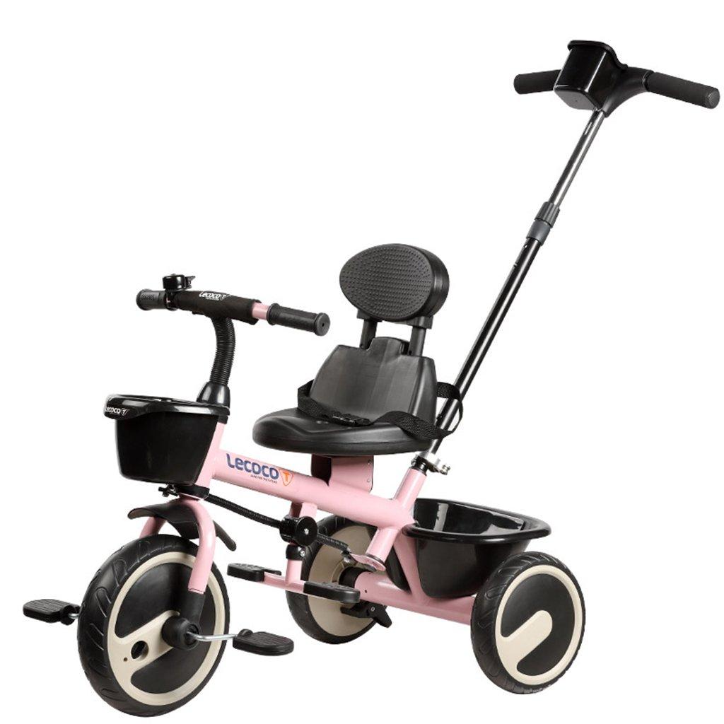 XQ 子供の三輪車の自転車キッズバイク3-6歳のパターのシートベルトは強い 子ども用自転車 ( 色 : ピンク ぴんく ) B07CGKNPDF ピンク ぴんく ピンク ぴんく