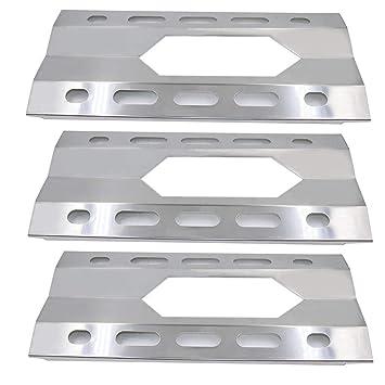 Barbacoa factoryâ jpx281 (3 unidades) de repuesto escudo de calor de acero inoxidable para
