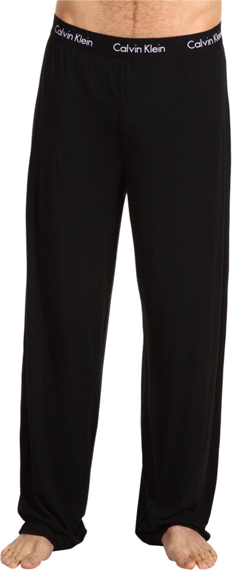 Calvin Klein Men's Body Modal Sleep Pant,Black,Large