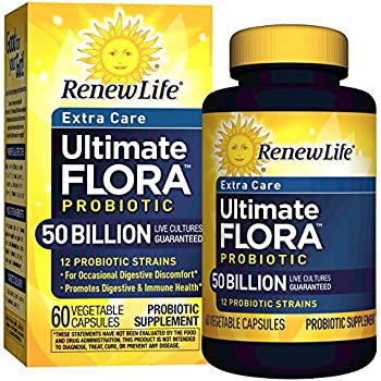 Renew Life - Ultimate Flora Probiotic Extra Care - 50 billion - 60 vegetable capsules
