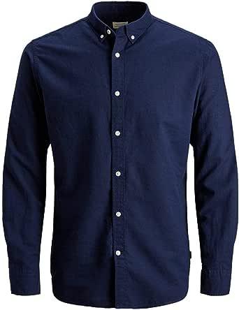 Jack & Jones Jjesummer Shirt L/S Noos Camisa para Hombre