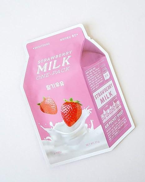 APIEU Milk-One-Pack 7 Sheets: Amazon.es: Belleza