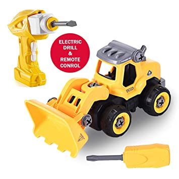 Amazon com: Take Apart Toys with Electric Drill,Converts to