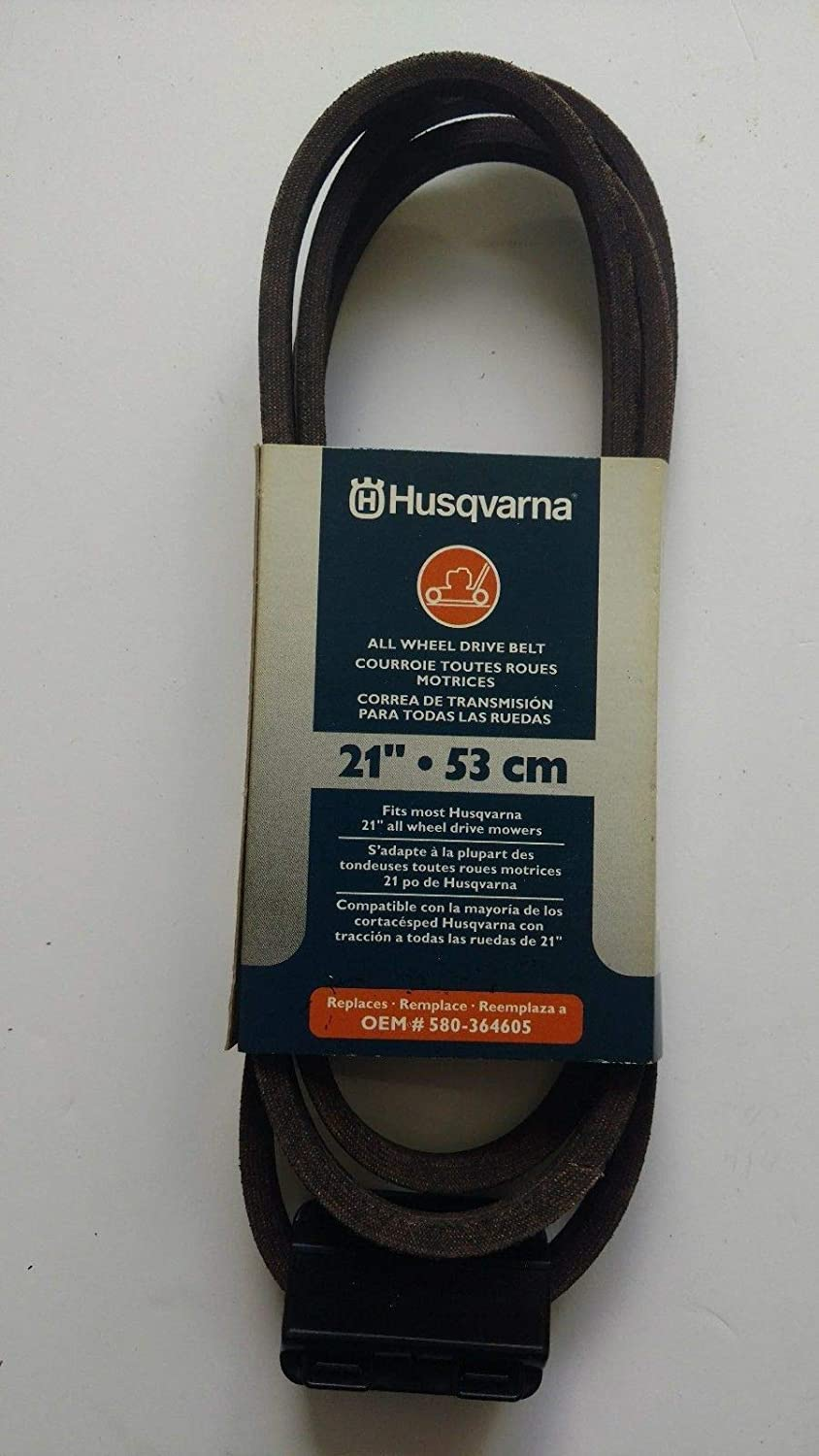 Amazon.com : Husqvarna 21-in Drive Belt for All Wheel Drive Mowers : Garden & Outdoor