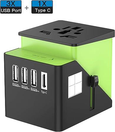 Universal UK//US//EU//AU to EU EUROPE Travel Power Adapter Plug Free Shipping /_CA