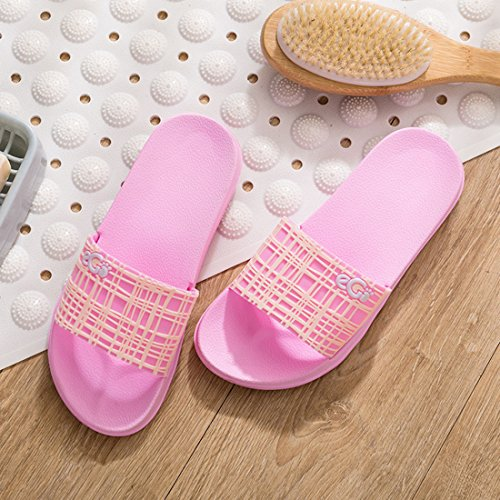 Slippers Lightweight 1 CARE Slipper Indoor Slip YUENA Floor Shower House Unisex Sandals Non AUpZnaq