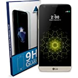 SNM Global ANTI-SHATTER Tempered Glass Screen Protector Scratch Free Ultra Clear HD Screen Guard for LG G5
