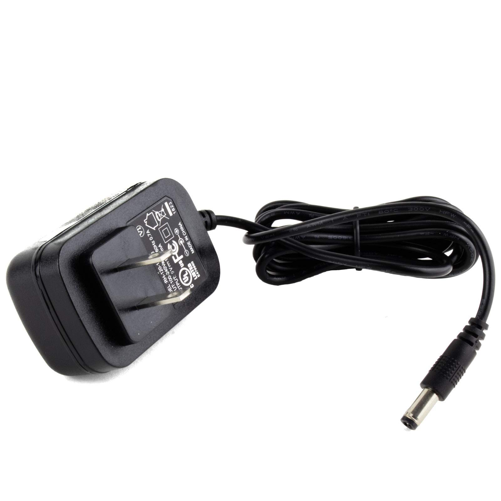MyVolts 9V Power Supply Adaptor Compatible with Dymo LetraTag S0883990 100H Label Printer - US Plug