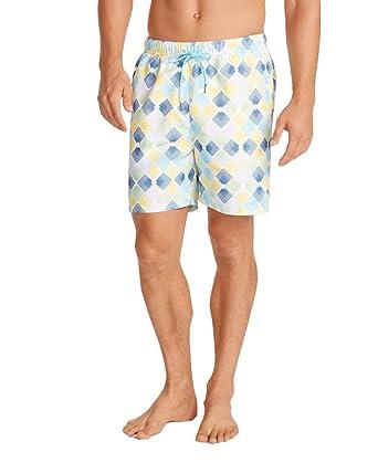 cc4fd542cb Tommy Bahama Men's Naples Marquee Mark Short 6-inch Swim Trunks Shorts |  Amazon.com