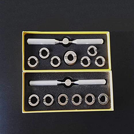 Watch Back Case Opener Remover Watchmaker Repair Tool Kit with Different Sizes Grooved Check for ROLEX and Other Watches(as the picture) - - Amazon.com