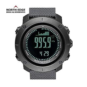 Msxx Reloj Militar del Ventilador, al Aire Libre Multi-Funcional Militar táctico Militar de Combate Reloj de la policía, Relojes diseñados para los ...