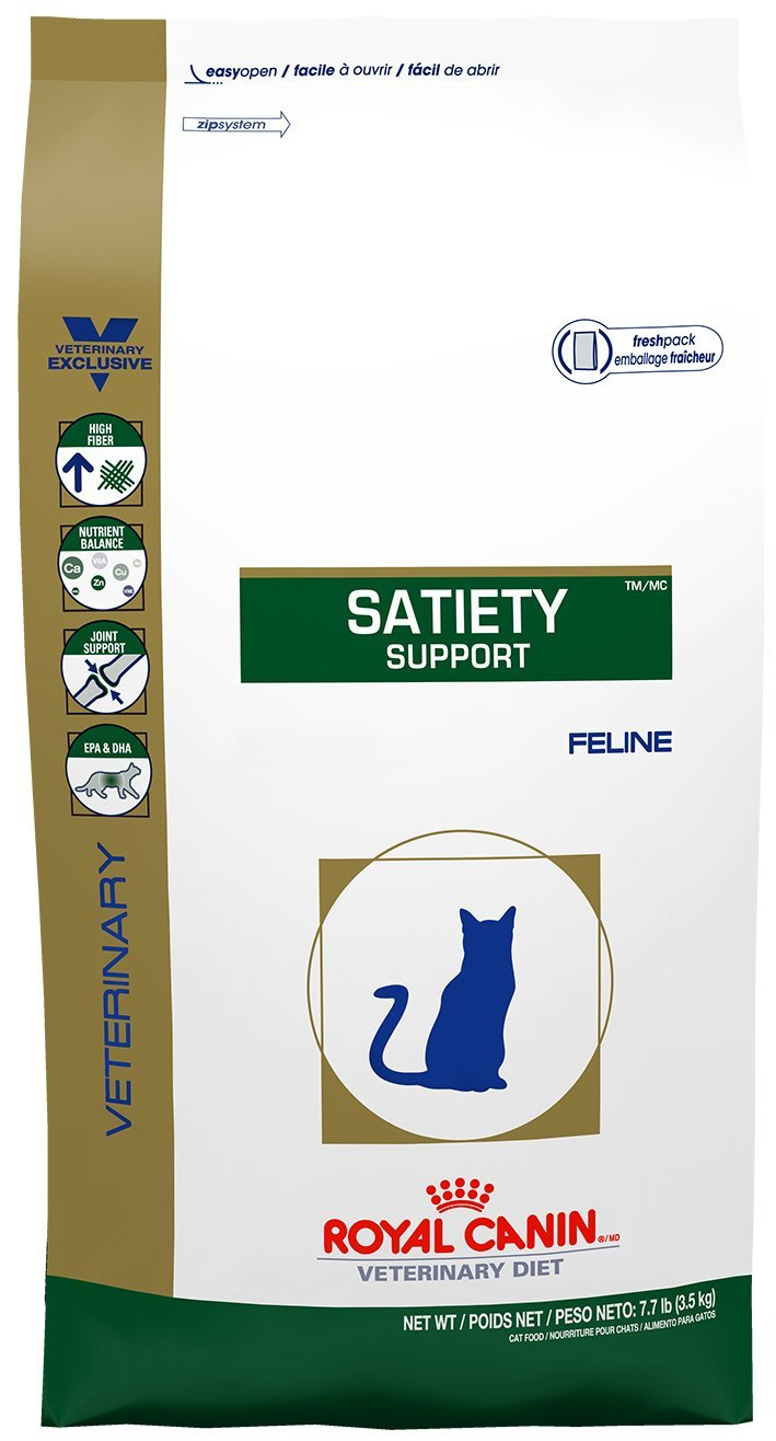 Amazon.com : Royal Canin Feline Satiety Support Dry Cat Food 7.7 lb : Dry Pet Food : Pet Supplies