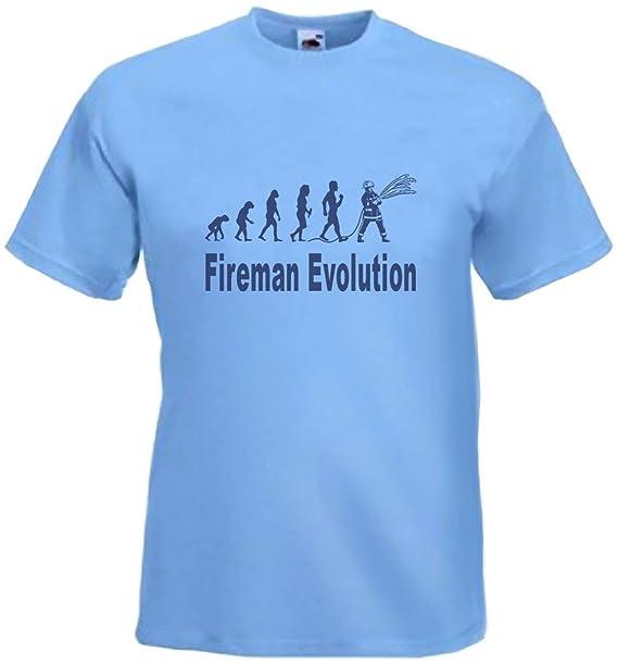 art2tshirt - Camiseta - para hombre azul celeste M: Amazon.es: Ropa y accesorios