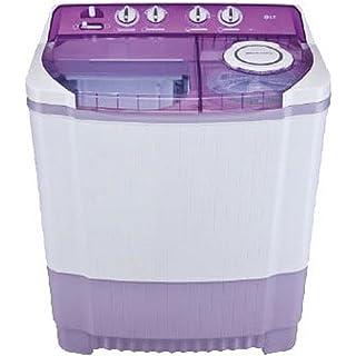 LG 7.5 kg Semi Automatic Top Loading Washing Machine  P8537R3SA, Mauve  Washing Machines   Dryers