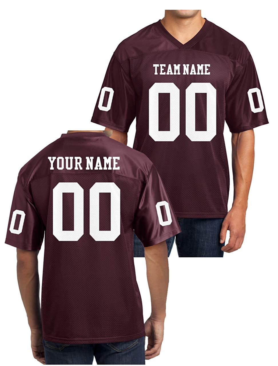 check out 63c17 ad016 Custom Football Replica Team Jersey