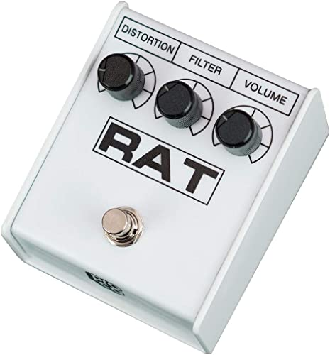Pro-co RAT 2 WHITE IKEBE 40th Anniversary Distortion pedal