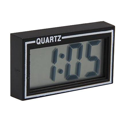 Mini Carro de Coche LCD Tablero de Instrumentos Auto Reloj Digital Calendario de Escritorio Fecha