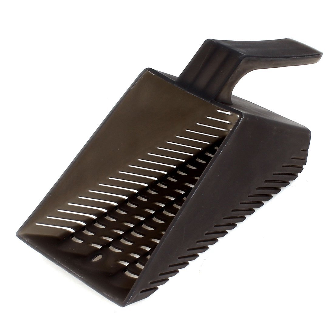 Uxcell Plastic Nonslip Grip Pet Dog Puppy Wastes Trash Litter Scoop, Black a15011500ux0130