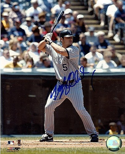 Matt Holliday Signed 8x10 Photograph - Autographed Baseball Pictures