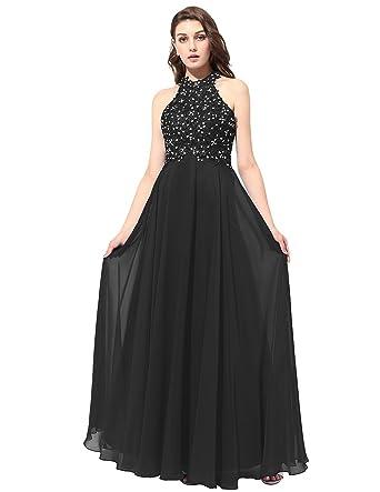 Dresstells reg; Long Prom Dress Chiffon Bridesmaid Dress Applique Evening Party Gown