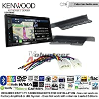 Volunteer Audio Kenwood Excelon DNX694S Double Din Radio Install Kit with GPS Navigation System Android Auto Apple CarPlay Fits 2003-2009 Toyota 4Runner, 2003-2006 Tundra (Without JBL system)