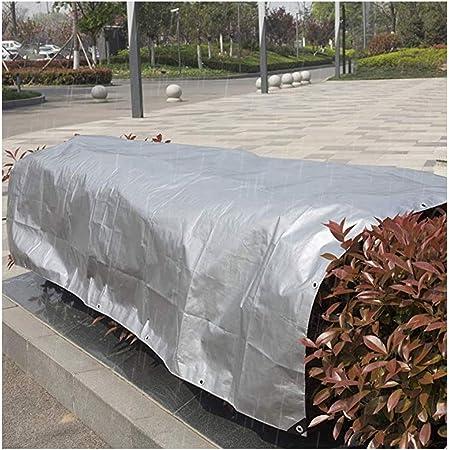 SHIJINHAO Lonas Impermeables Exterior Pesado Lona Impermeable Anti-UV Coche Jardín Lona Protectora Toldo con Agujeros De Metal, 23 Tamaños (Color : Silver, Size : 3 x5m): Amazon.es: Hogar