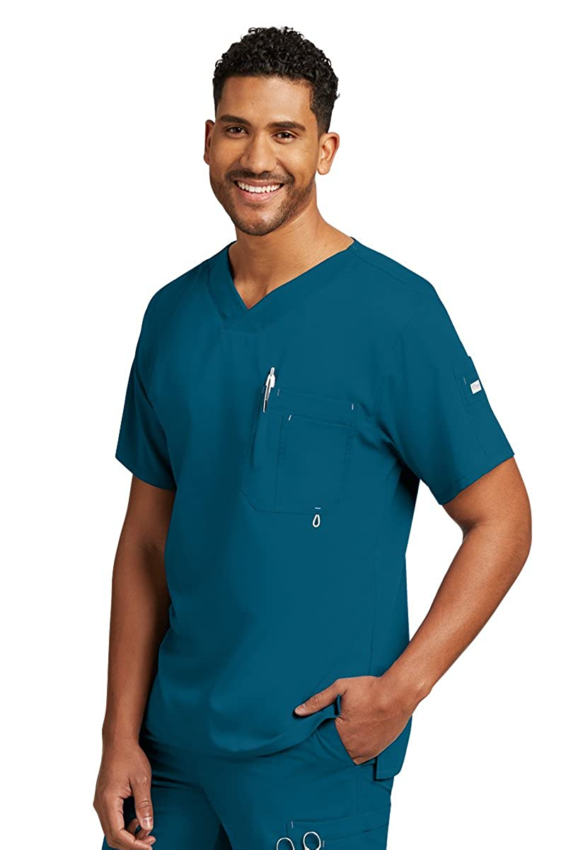 1770212a924 Online Cheap wholesale Greys Anatomy Mens 0107 Modern Fit V-Neck Scrub Top  Scrub Tops Suppliers