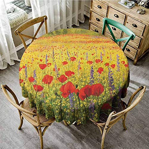 - Rank-T Dust-Proof Round Tablecloth 67