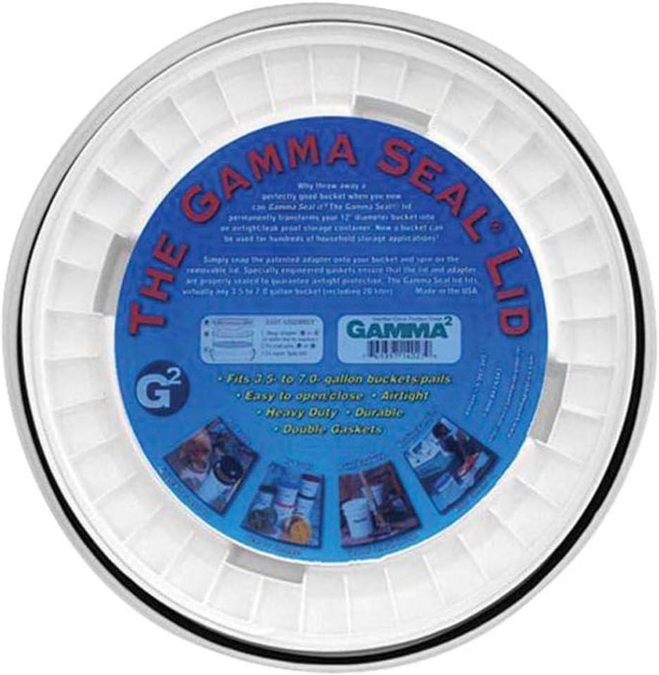 Gamma White 5 Gallon Lid