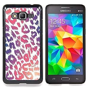 - Leopard Pattern Purple Pink White Fur - - Monedero pared Design Premium cuero del tir???¡¯???€????€???????????