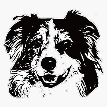 Australian Shepherd Mom Sticker Vinyl Auto Window Sticker Aussie