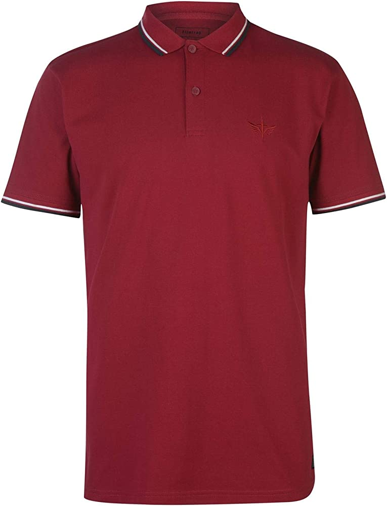 Firetrap Hombre Lazer Camiseta Polo Rumba Rojo XXL: Amazon.es ...