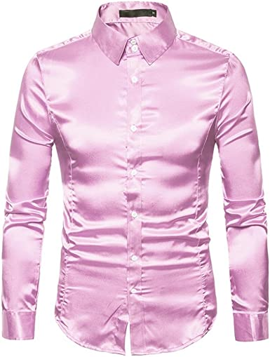 Kaiki - Camiseta de Manga Larga - para Hombre Rosa XXL: Amazon.es: Ropa y accesorios