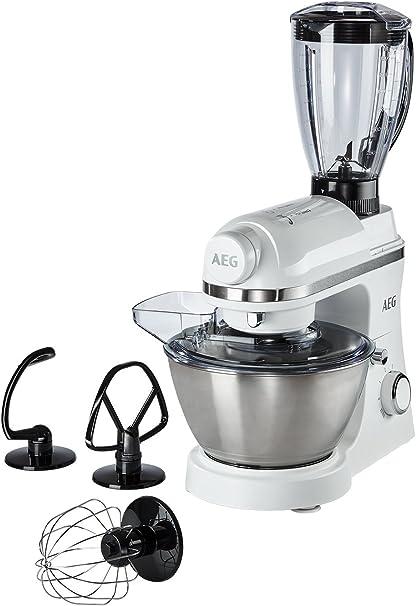 Robot de cocina Serie 3 de AEG, incluyeaccesorio de batidora Weiß: Amazon.es: Hogar