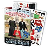 American Gothic Magnetic Dress Up Doll Play Set