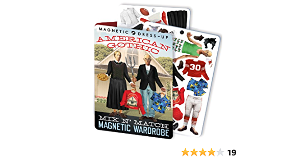 The Unemployed Philosophers Guild Bob Ross Magnetic Dress Up Doll Play Set