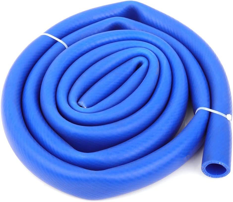 cciyu Radiator Hose High Performance Replacement Radiator Hose Kit Fits for10 ft 1 ID FlexFab 5526 Blue Silicone Heater Hose 25mm 350F Radiator Coolant 1.00