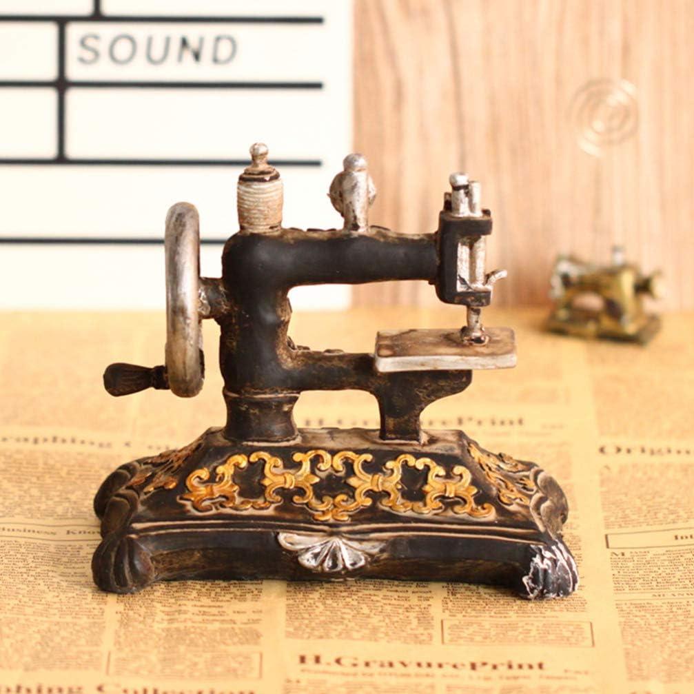 Healifty Modelo de Máquina de Coser Vintage Máquina de Coser ...