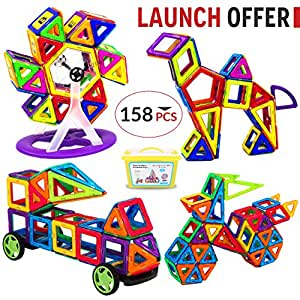 Amazon.com: Best Archies 158 PCS Premium Magnetic Building