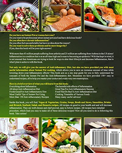 Anti inflammatory diet instant pot cookbook the only anti anti inflammatory diet instant pot cookbook the only anti inflammatory diet recipe cookbook in 2018 for your instant pot cooking to decrease forumfinder Gallery