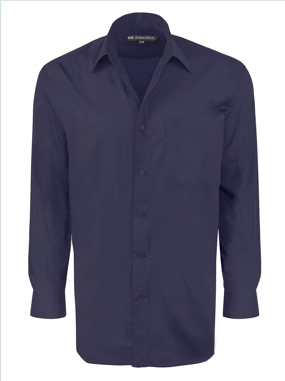 Fortino Landi Marino Vestido hombres, de Landi manga larga camisa de ...