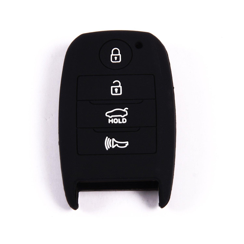 Velsman - Carcasa de silicona para llave de coche KIA Optima ...