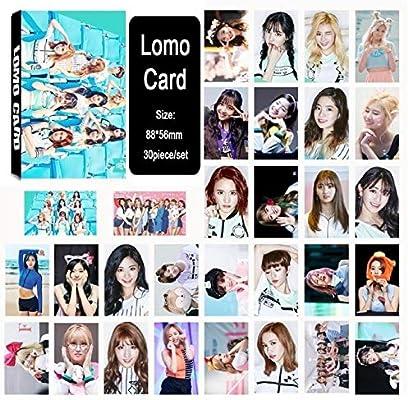 Laliva Kpop Twice Cheer UP Momo LIM Na Yeon Tzuyu Album LOMO Cards K