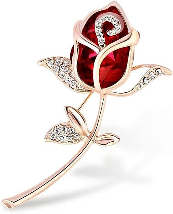 Aisoway Cristal Broche R/étro Broche Broches Bijoux V/êtements pour Femme Or