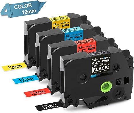 Amazon.com: Compatible con cinta de etiquetas Brother de ...