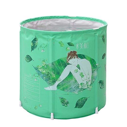 Aislamiento Ensanchar doblez Barril de baño verde bañera ...